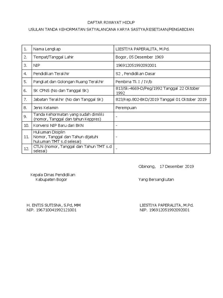 Bkd Kab Bogor : bogor, DRH.docx