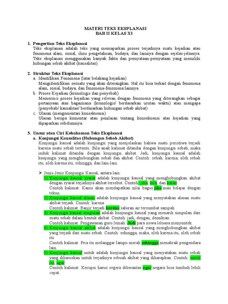 Materi Teks Eksplanasi Kelas 11 : materi, eksplanasi, kelas, EKSPLANASI, KELAS