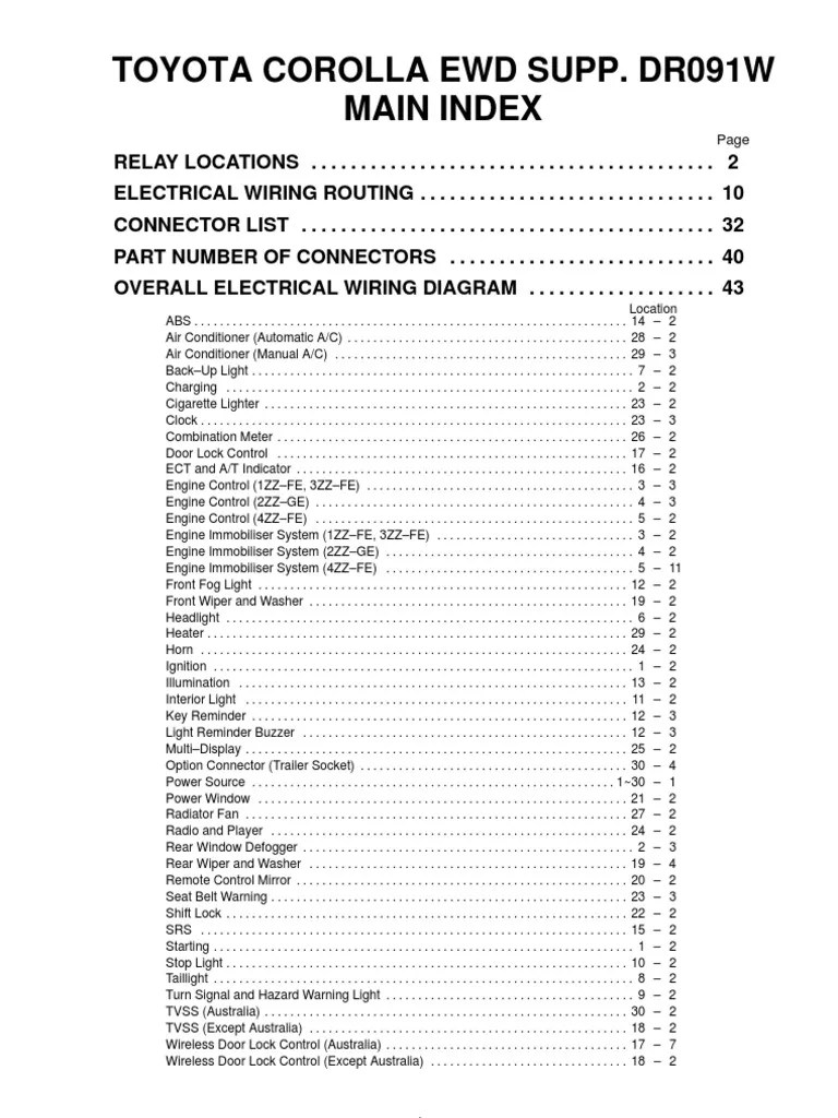 hight resolution of 2zz ge pinout wire harnes
