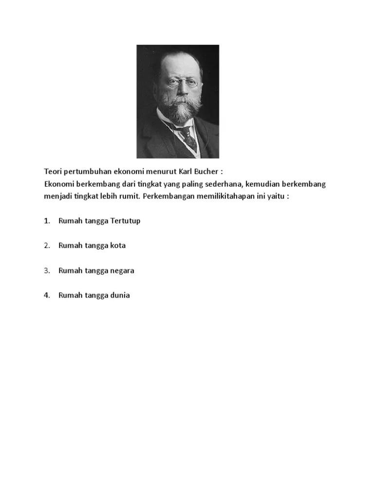 Pertumbuhan Ekonomi Menurut Karl Bucher : pertumbuhan, ekonomi, menurut, bucher, Teori, Pertumbuhan, Ekonomi, Menurut, Bucher