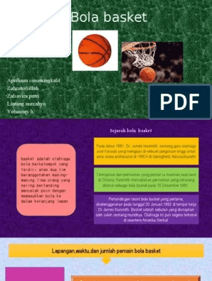 Berapa Pemain Bola Basket : berapa, pemain, basket, Olahraga, Basket.pptx