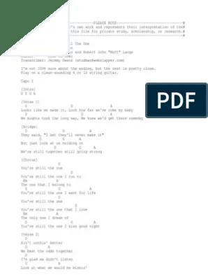Kunci Gitar Bejanamu : kunci, gitar, bejanamu, You'Re, Still, Songs, Recorded, Music