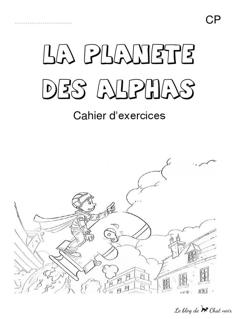 Les Alphas En 7 Jours : alphas, jours, Planète, Alphas, Exercices, Jours, CP.pdf