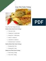 Cara Membuat Telur Dadar Padang : membuat, telur, dadar, padang, Resep, Membuat, Telur, Dadar