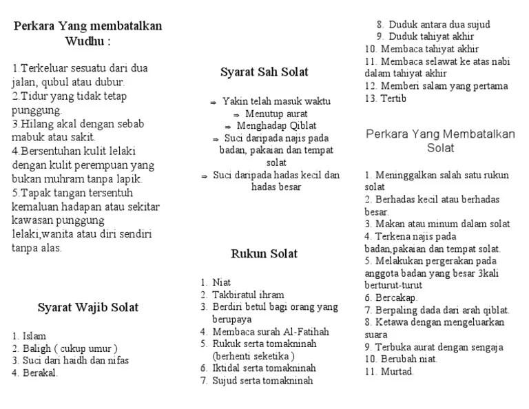 Makan Minum Membatalkan Wudhu : makan, minum, membatalkan, wudhu, Perkara, Membatalkan, Wudhu