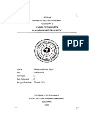 Laporan Praktikum Potensiometri : laporan, praktikum, potensiometri, Laporan, Potensiometri, H3PO4