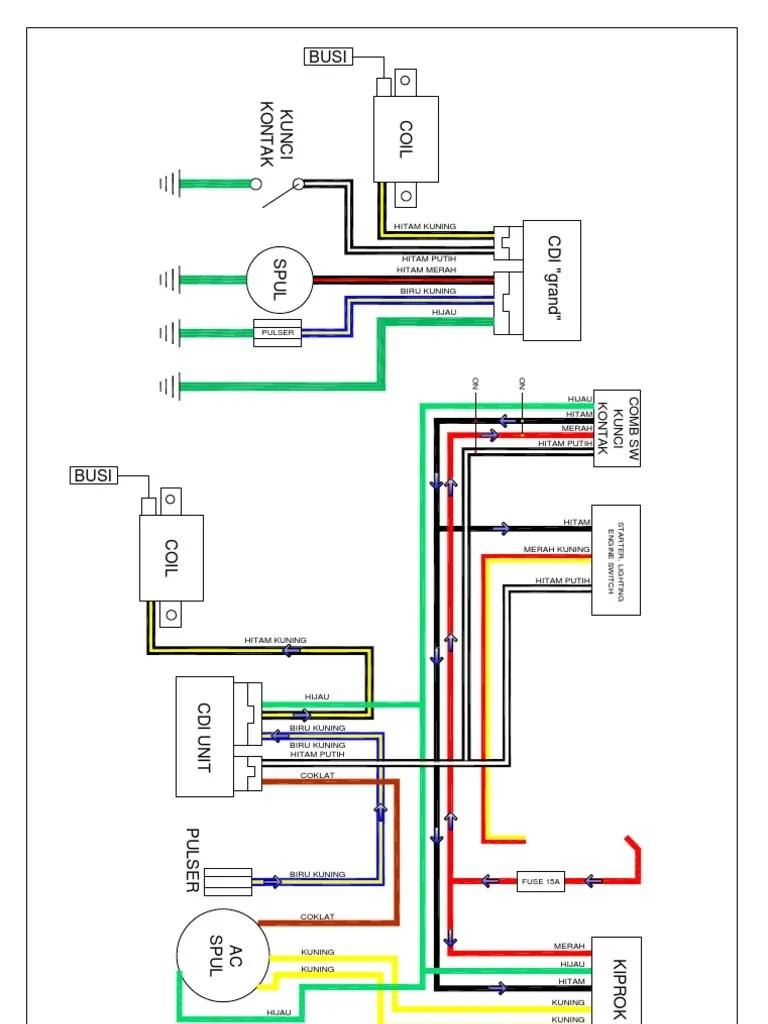 hight resolution of motor wiring diagram motor honda layout1 1 wiring diagram kelistrikan suzuki thunder 125