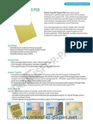 Cara Menggunakan Kertas Transfer Paper : menggunakan, kertas, transfer, paper, Transfer-paper-pcb.pdf