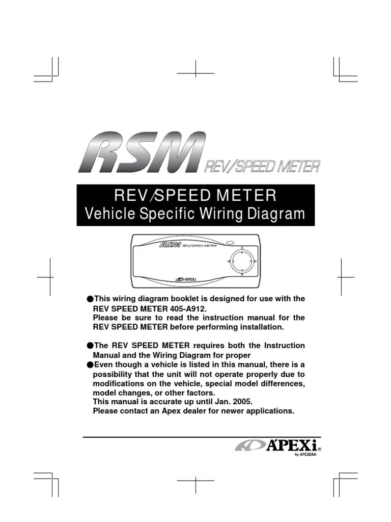 apexi rsm automobile layouts manufacturing companies of japan outlet wiring apexi rsm wiring diagram [ 768 x 1024 Pixel ]
