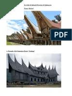 Mozaik Rumah Adat : mozaik, rumah, Rumah, Seluruh, Provinsi, Indonesia.docx