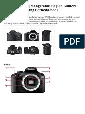 Bagian Kamera Dslr Dan Fungsinya : bagian, kamera, fungsinya, Bagian-bagian, Kamera