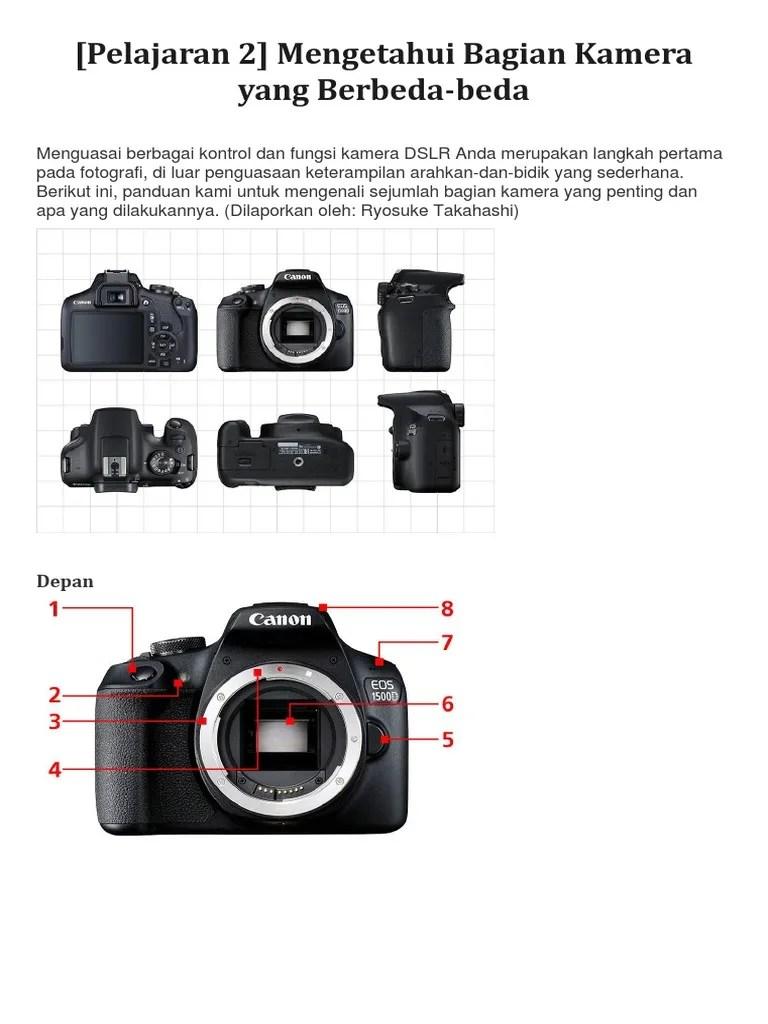 Bagian-bagian Kamera : bagian-bagian, kamera, Bagian-bagian, Kamera