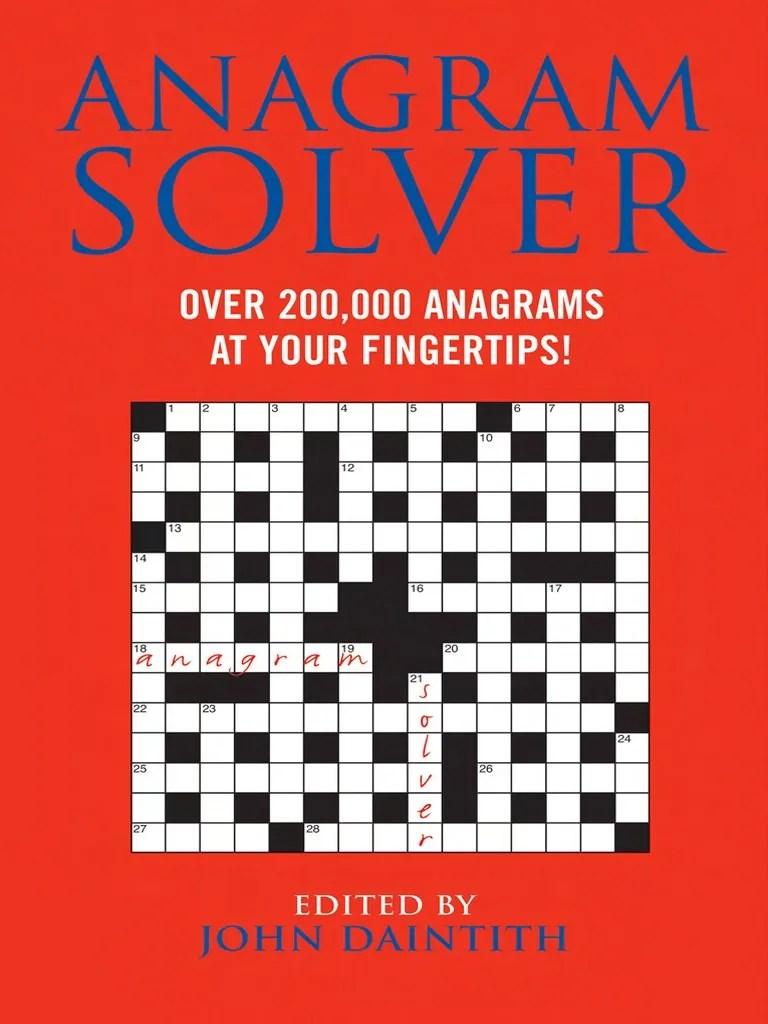 medium resolution of Anagram Solver_ Over 200
