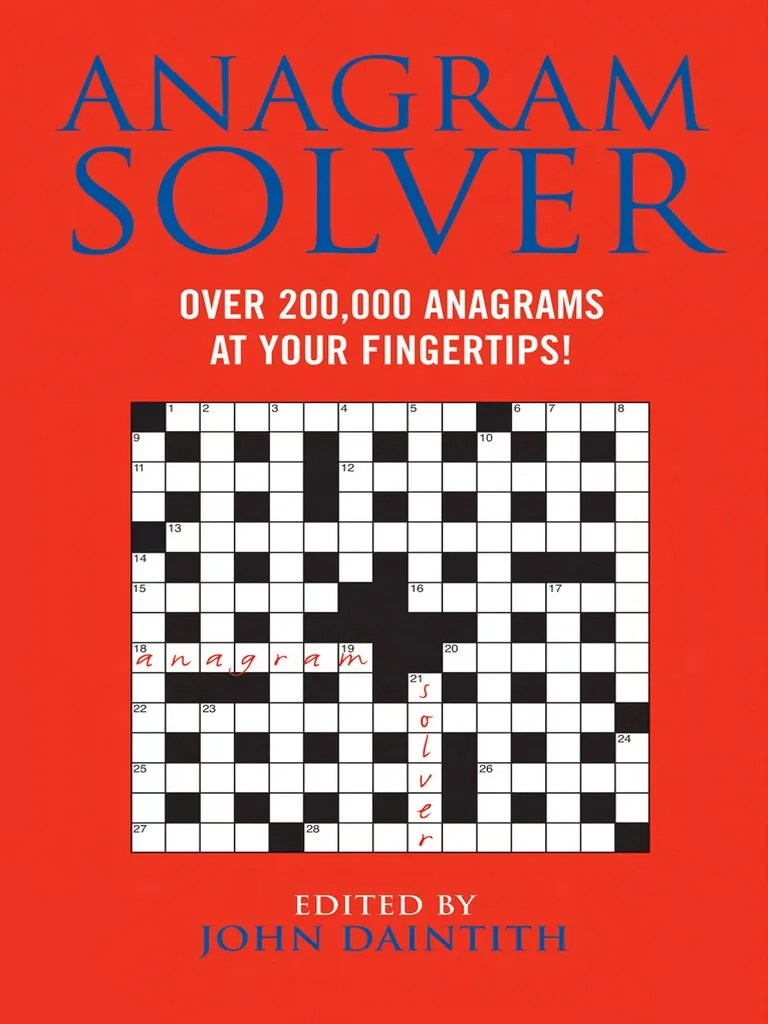 hight resolution of Anagram Solver_ Over 200
