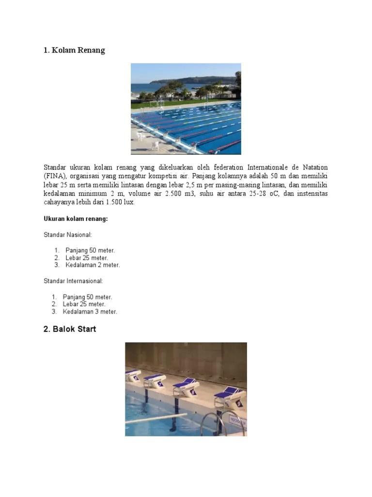 Ukuran Kolam Renang Standar Internasional : ukuran, kolam, renang, standar, internasional, Ukuran, Kolam, Renang