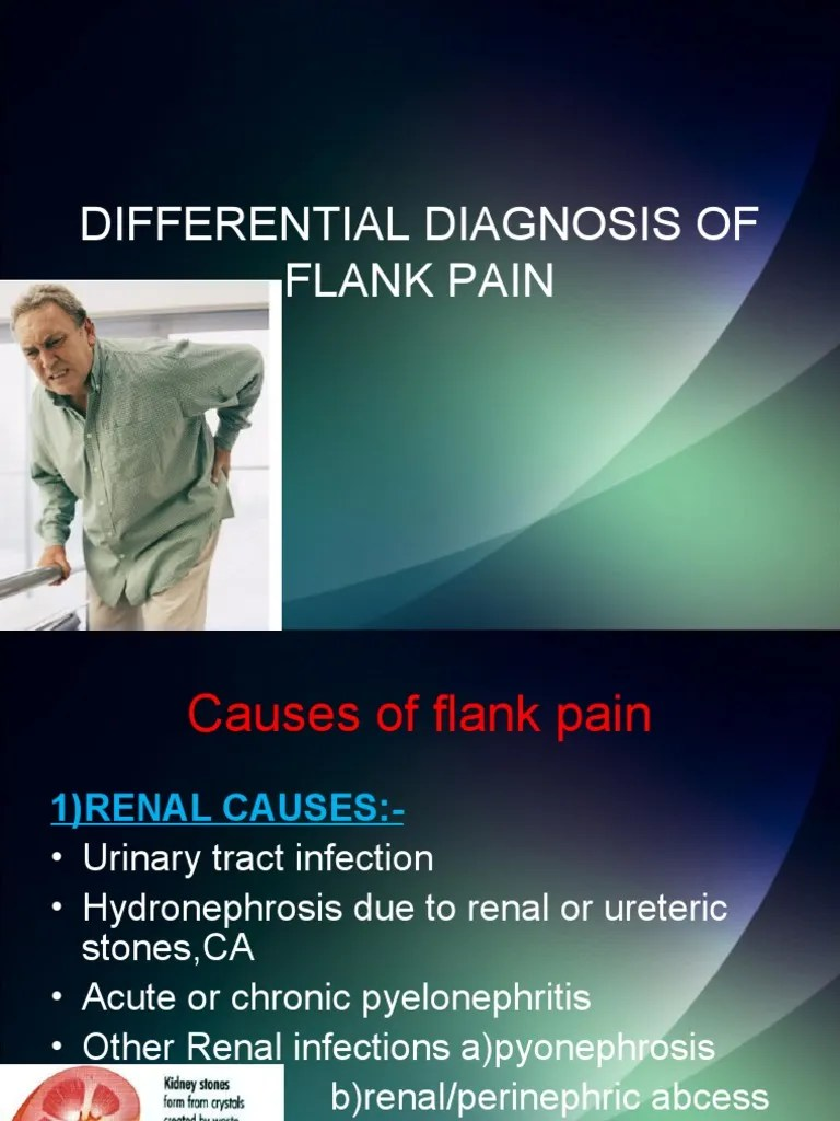 Differential Diagnosis of Flank Pain
