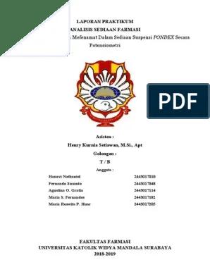 Laporan Praktikum Potensiometri : laporan, praktikum, potensiometri, LAPORAN, PRAKTIKUM, ANSED, POTENSIOMETRI