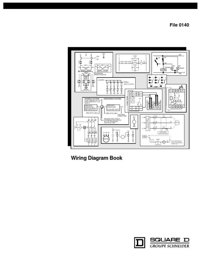 Square D Lighting Contactor Photocell Wiring Diagram