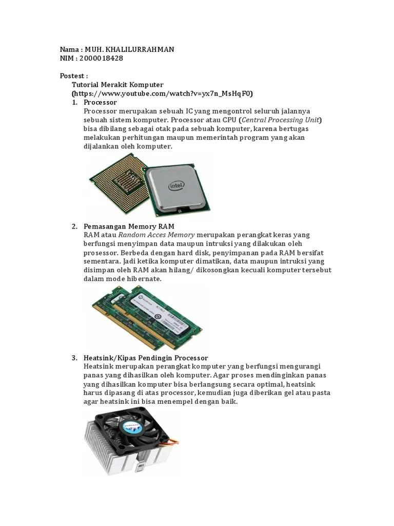 Jenis2 Ram : jenis2, Jenis, Hardware