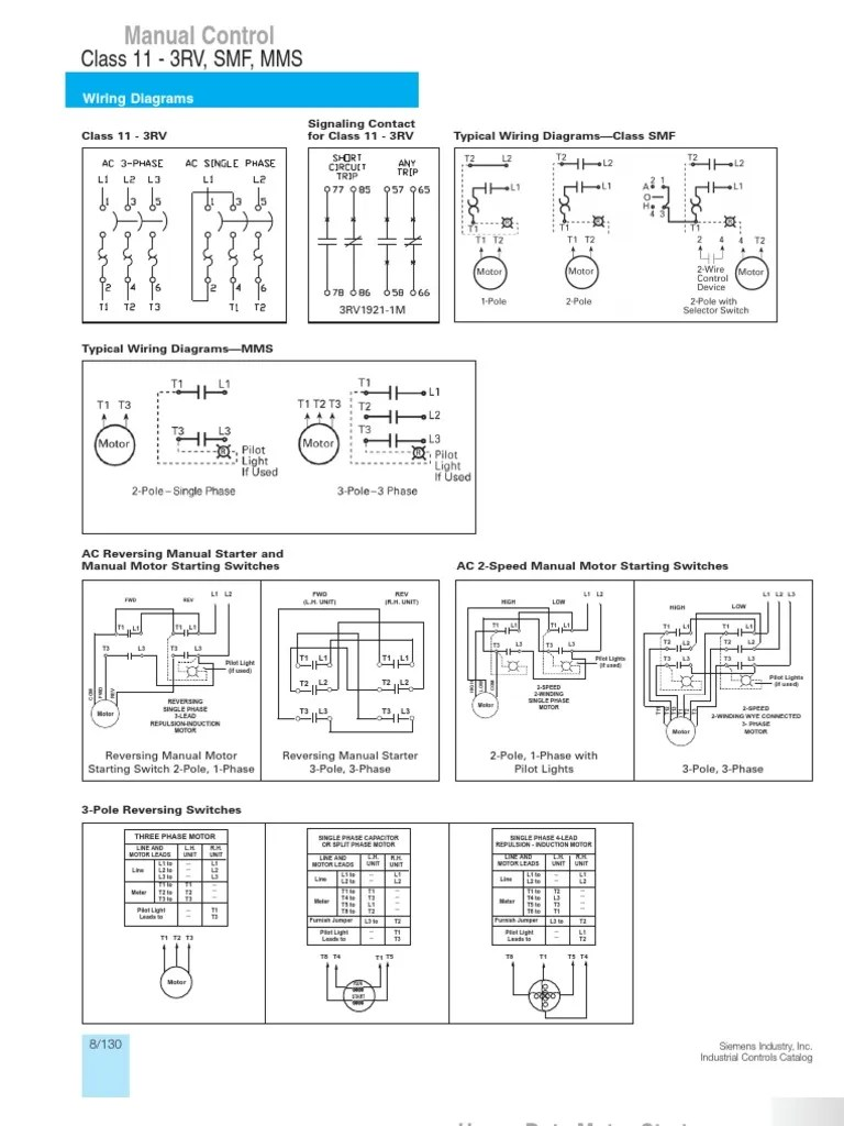 3 Phase Lighting Wiring Diagram Typical Wiring Diagrams Siemens