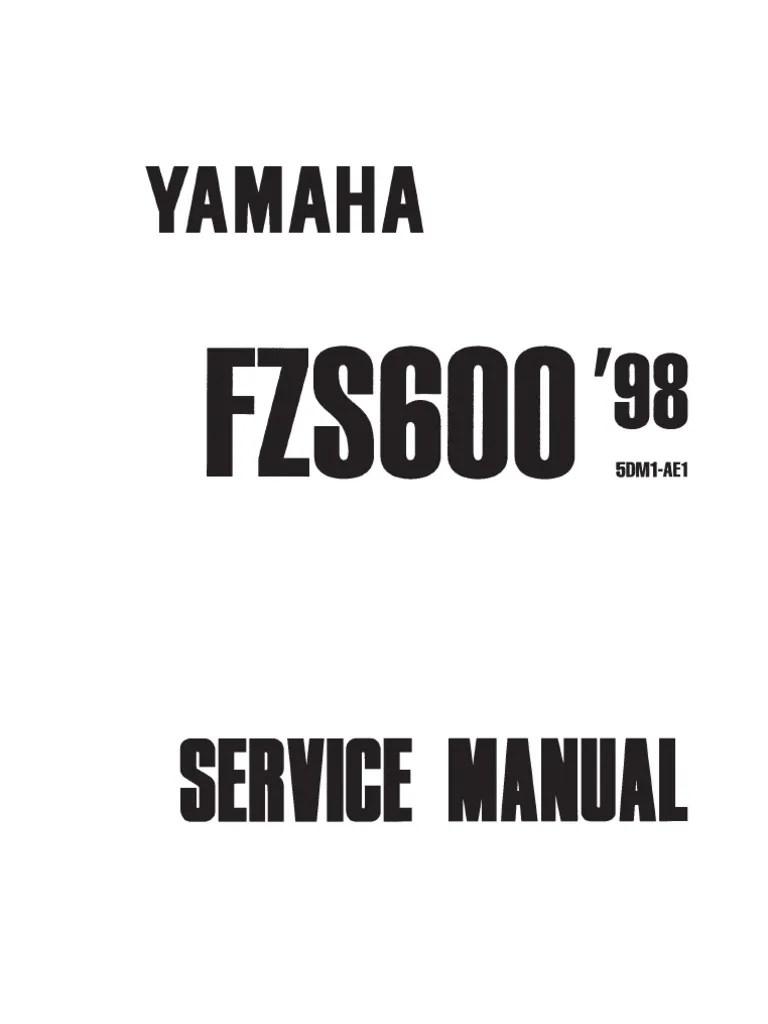 medium resolution of yamaha fazer 600 2000 repair manual screw piston