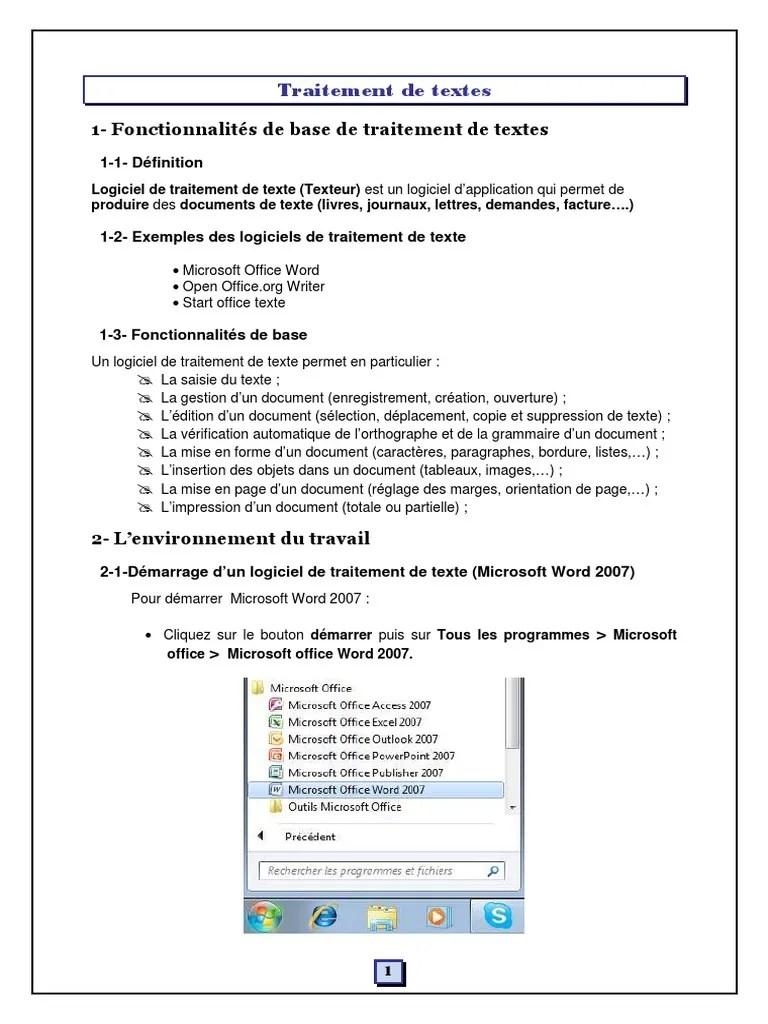 PDF Traitement de texte Word - CRMEF K