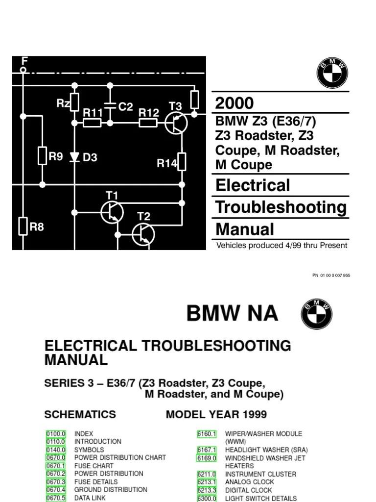 2000 bmw z3 m roadster z3 m coupe electrical troubleshooting manual anti lock braking system vehicle parts [ 768 x 1024 Pixel ]