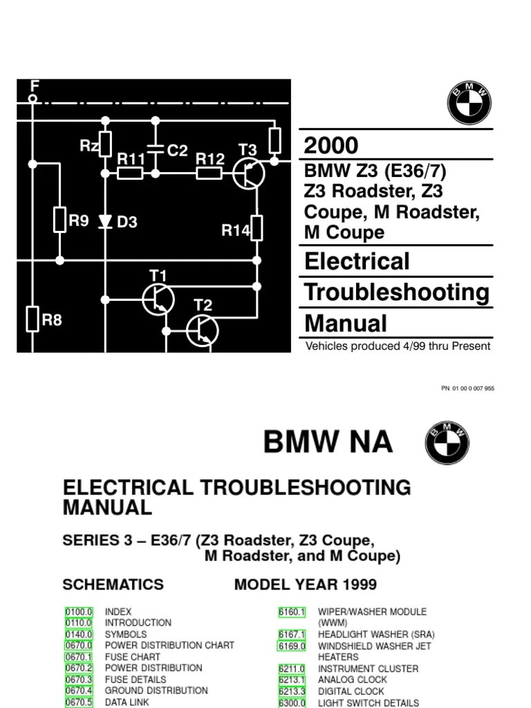 medium resolution of 2000 bmw z3 m roadster z3 m coupe electrical troubleshooting manual anti lock braking system vehicle parts