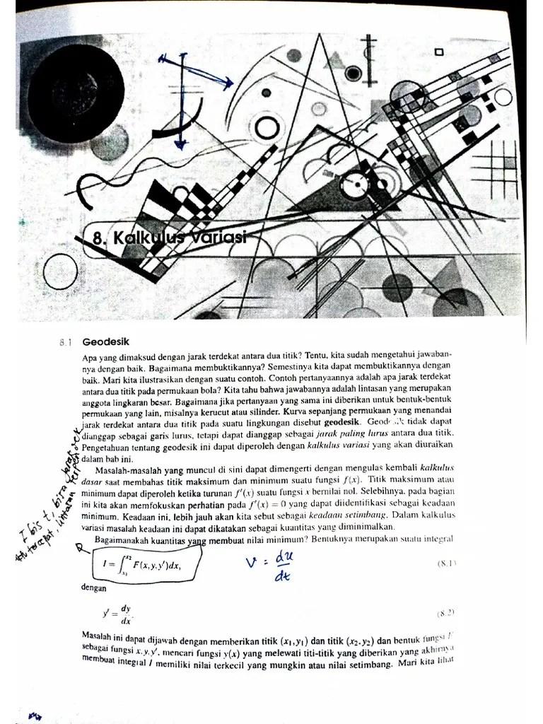 Keberadaan jawaban persamaan maxwell telah ditentukan dengan metode langsung kalkulus variasi dalam wakilan forma diferensial. Kalkulus Variasi Fismat Boaz