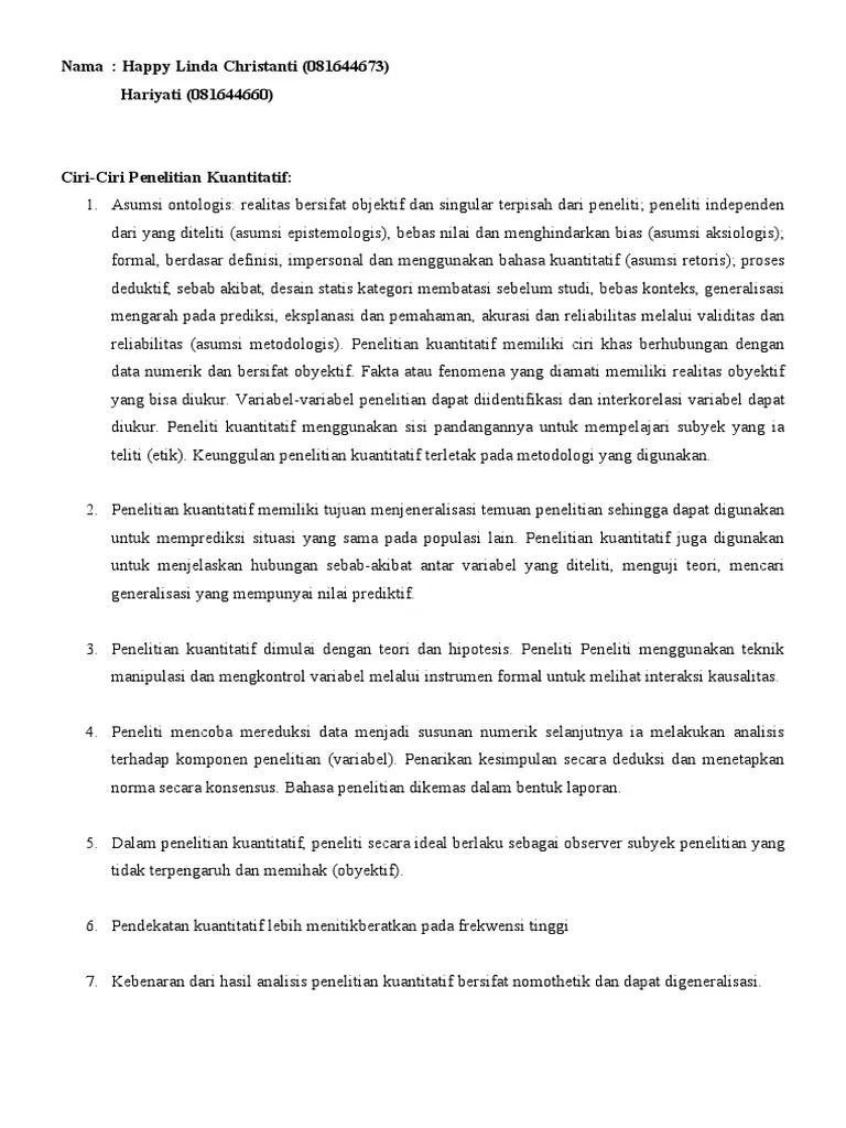 Ciri-ciri Penelitian Kualitatif : ciri-ciri, penelitian, kualitatif, Penelitian, Kualitatif, Cute766