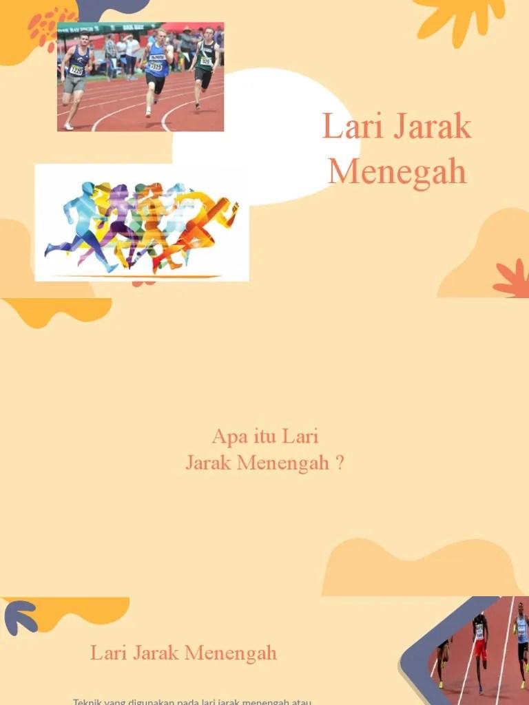 Ukuran Lari Jarak Menengah : ukuran, jarak, menengah, Atletik, Jarak, Menengah