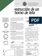 Manual para la construcción de Hornos caseros