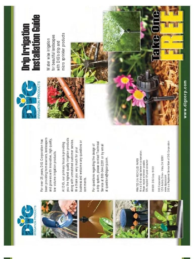 Drip Irrigation Manual   Irrigation   Soil   Prueba gratuita de 30 días   Scribd