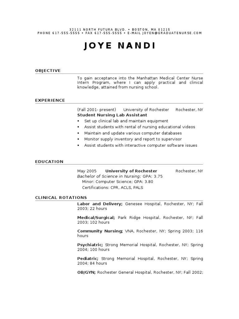 phone resume sample