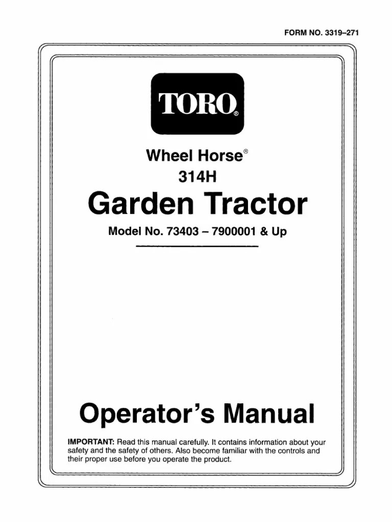 Toro Wiring Diagram 416 8 Wheel Horse Wheel Horse Belt