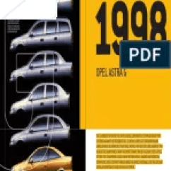 Opel Astra G 1998 Wiring Diagram Single Phase Psc Motor Fault Codes | Throttle Ignition System