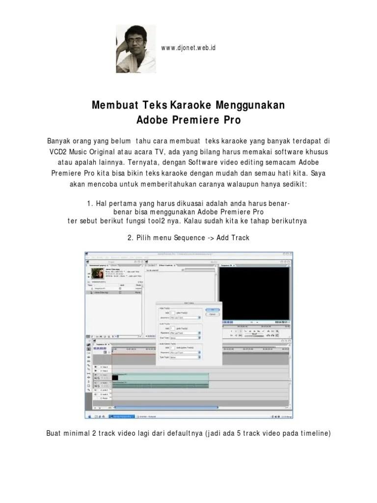 Cara Membuat Opening Video Di Adobe Premiere : membuat, opening, video, adobe, premiere, Menambahkan, Video, Adobe, Premiere, Berbagai, Penting