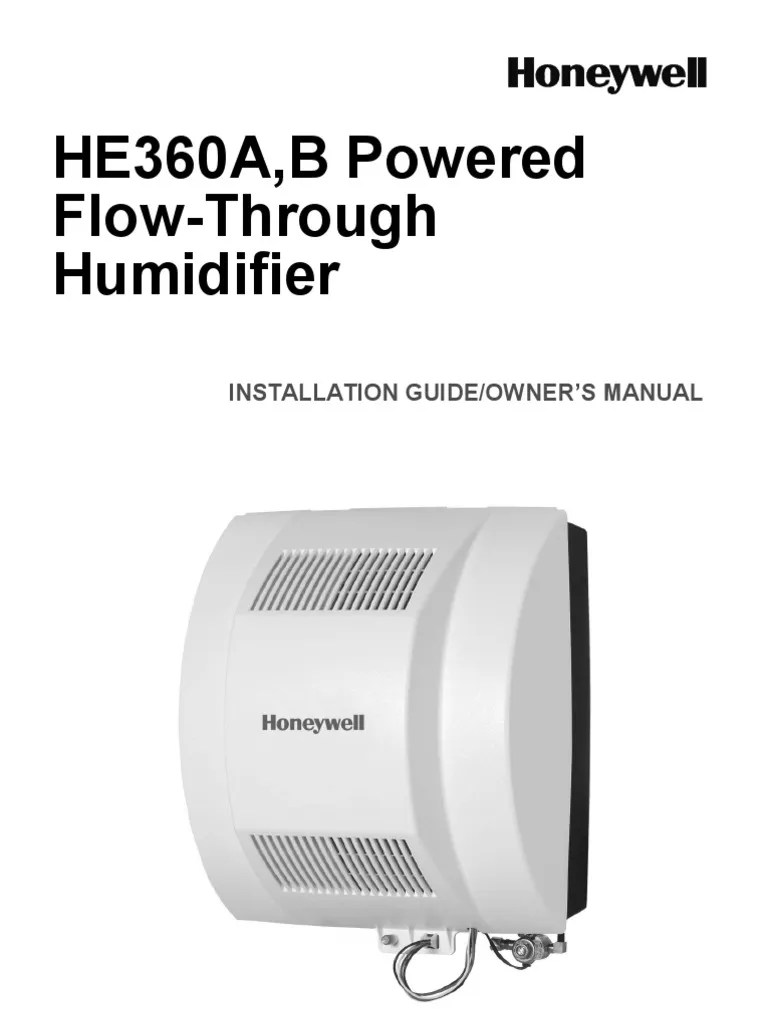 honeywell power humidifier wiring diagram 1994 chevy truck free he360a schematic library manual e books