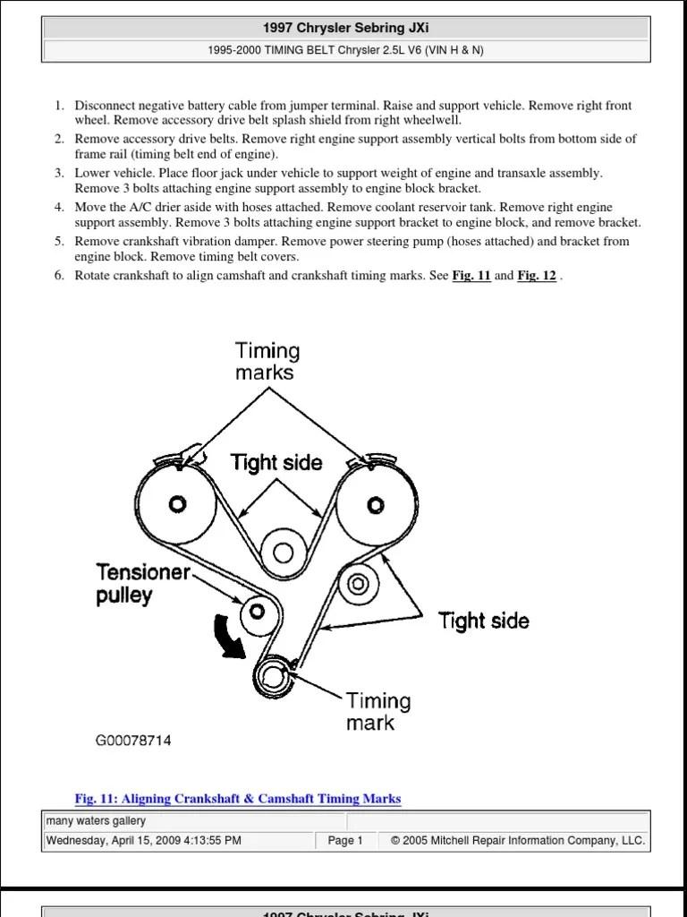 small resolution of 2000 chrysler sebring belt diagram