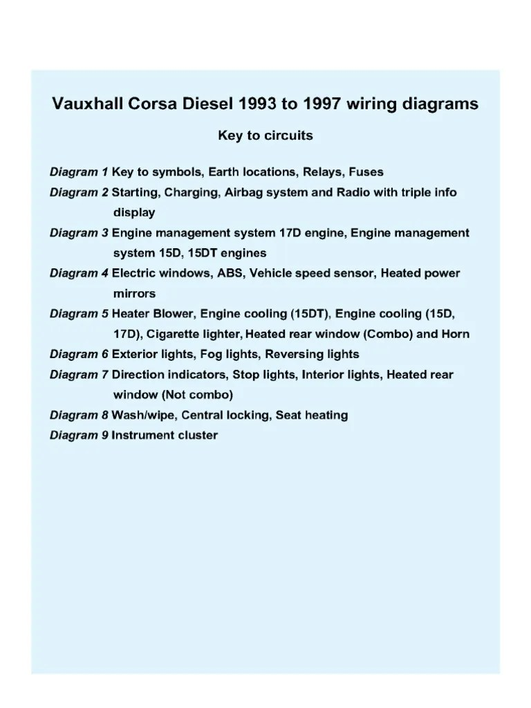 small resolution of opel corsa central locking wiring diagram wiring library corsa b central locking wiring diagram data wiring