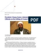 USA TODAY 2011 05 04 Al Qaeda International Politics