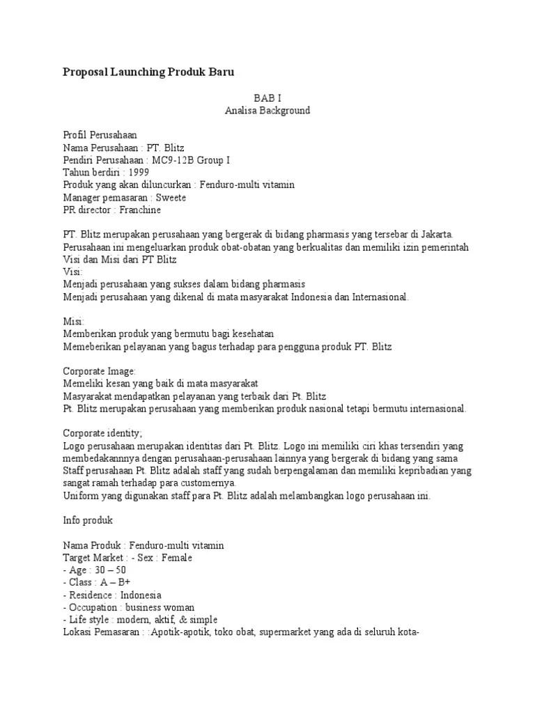 Ciri Ciri Proposal Yang Baik : proposal, Contoh, Proposal, Tahun, Aneka, Cute766