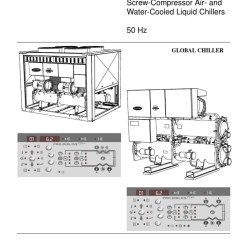 Carrier 30hxc Chiller Wiring Diagram Honda Wave 110 30gx And Series Controls Manual 3 Hvac Heat Exchanger