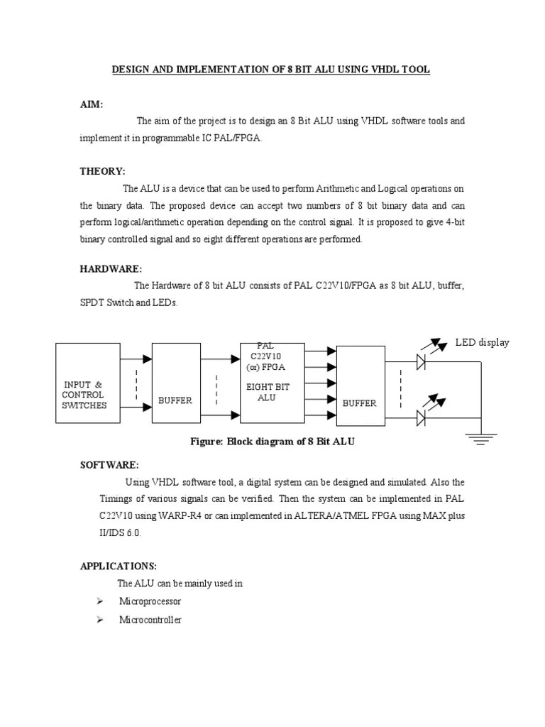 small resolution of 8 bit alu logic diagram