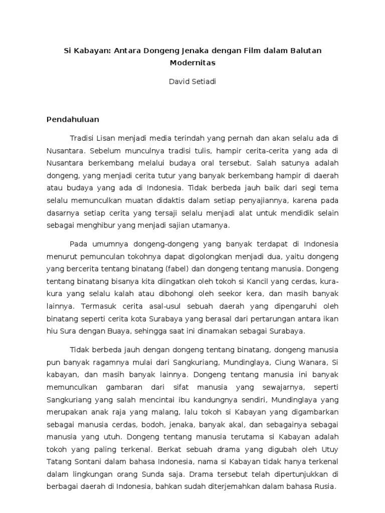 Si Kabayan Ngingu Munding | Tatar Pasundan