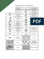 Simbolos de Ingenieria Civil y Arquitectura%5b1%5d