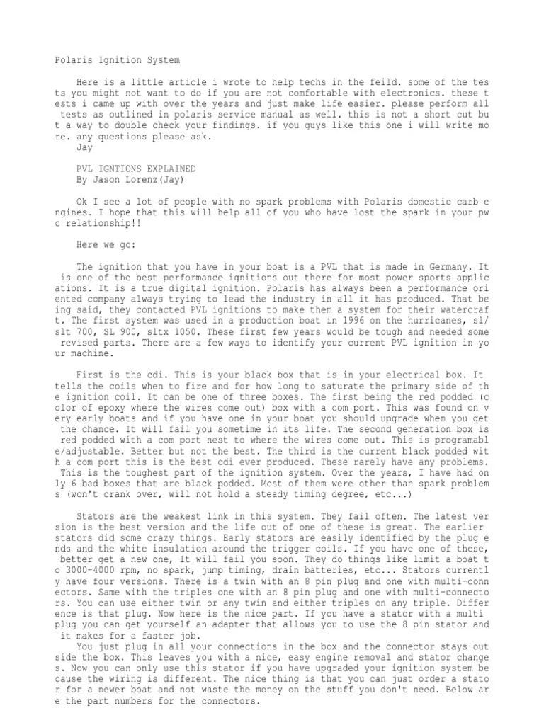 medium resolution of polari ignition problem