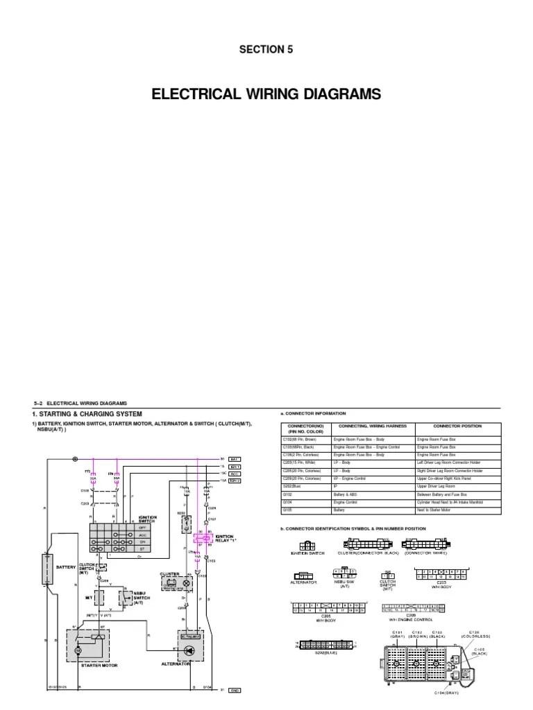 hight resolution of daewoo nubira 2000 stereo wiring diagram