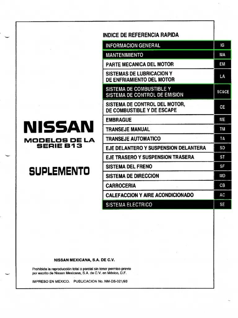 Manual Tsuru Motor e16e Con ECCS