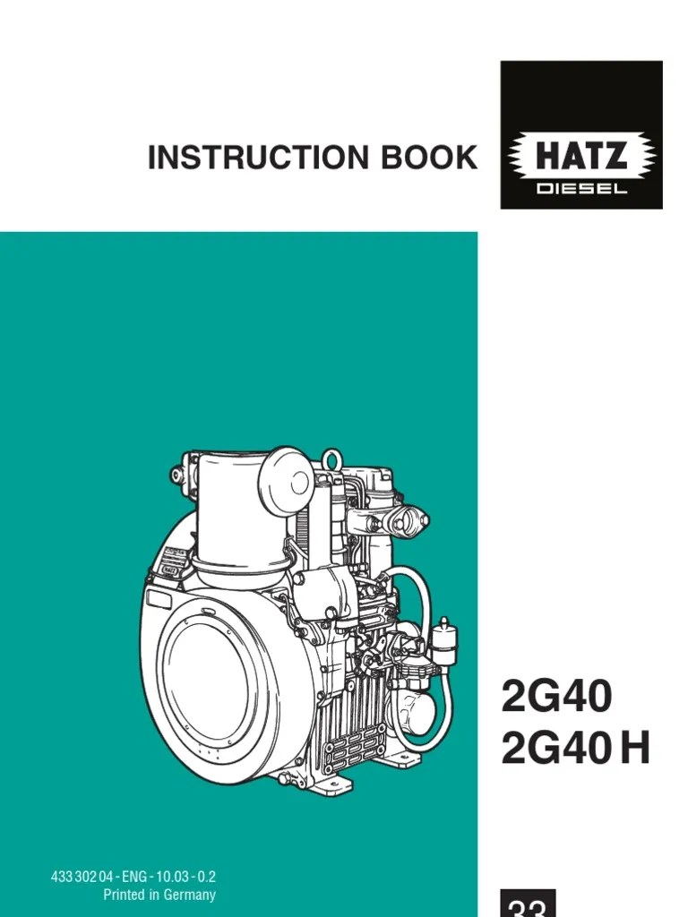 medium resolution of hatz 2g40 engine wiring diagram wiring library rh 5 codingcommunity de air cooled hatz diesel engines air cooled hatz diesel engines